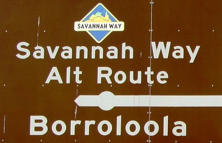 Savannah Way nach Borroloola